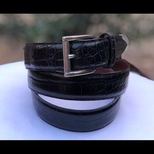 VTG Crook Horn 🇺🇸 & 🇮🇹 handcrafted Belt, Sz 36